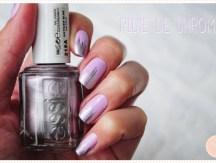 <span>Nail art</span> Pluie de chrome
