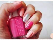 <span>Nail art</span> Failed stripes