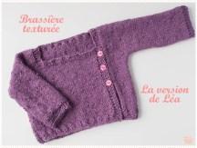 <span>Layette</span> Brassière texturée – Le kit de Léa, la suite