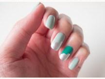 <span>Nail art</span> Green peace