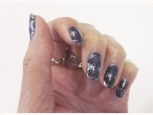 <span>Nail art</span> Blue shell