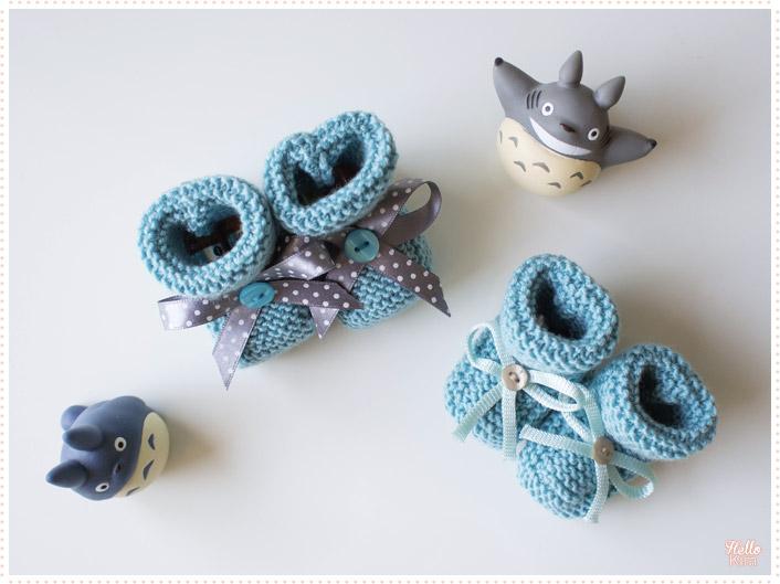 tricot-layette_chaussons-point-mousse-bleu-garcon-naissance-3mois_hellokim01