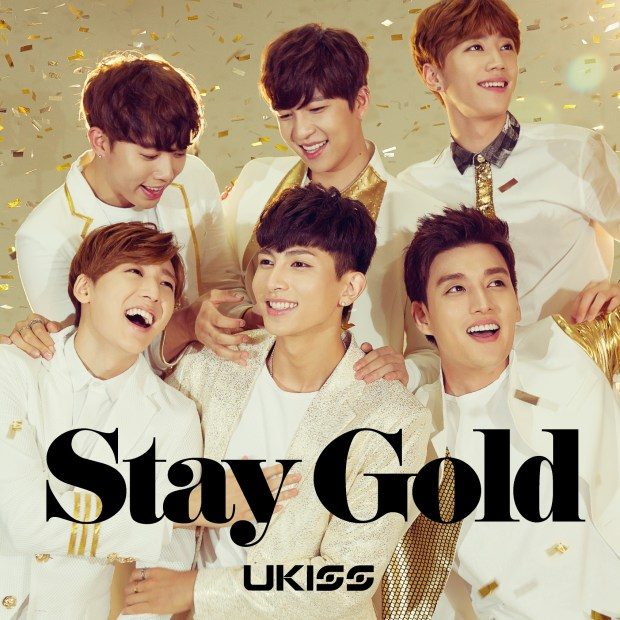 """U-KISS Reveals Jacket Images For """"Stay Gold"""""""
