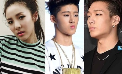 20151215_2NE1's_ Sandara Park_ And_ iKON's_ Bobby_ B.I_ To_ Guest_ On_ 'Happy Together 3'