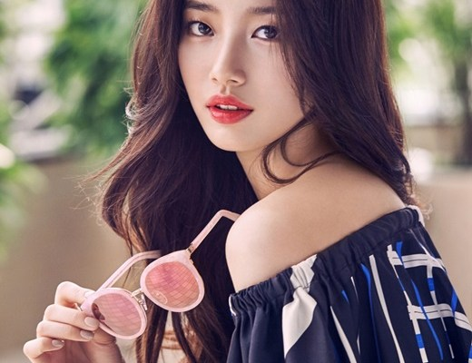 Miss A S Suzy Is A Summer Goddess For Carin Sunglasses