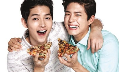 Song Joong Ki and Park Bo Gum,Reply 1988, Park Bo Gum , Descendants of the Sun, Song Joong Ki