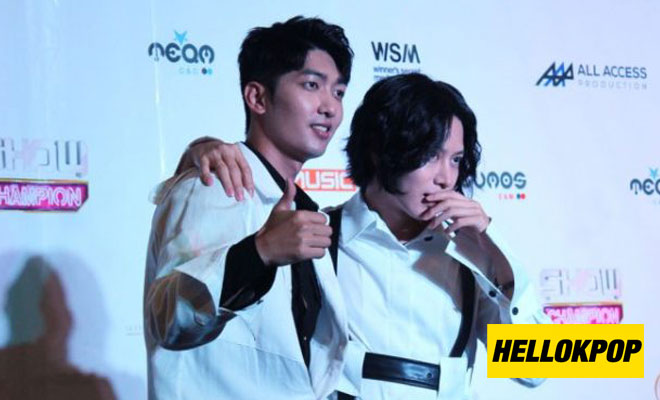 heechul and jungmo mbc show champ manila