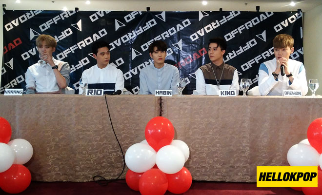 offroad in manila press conference