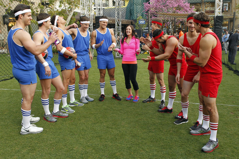 Desiree has the Bachelors play dodge ball for her love on the Bachelorette.