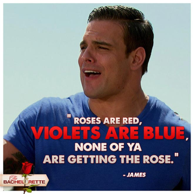 James on the Bachelorette is the worst rapper for right reasons rap with Desiree and Soulja boy.