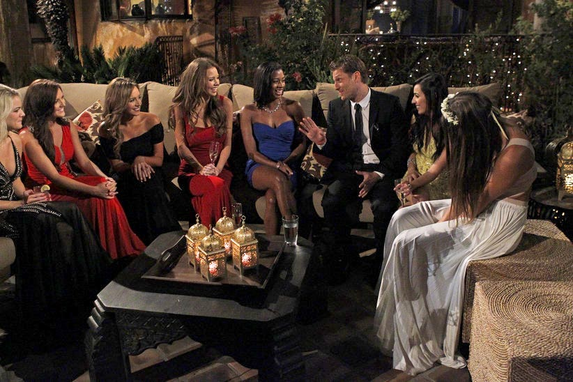 Juan Pablo Galavis meets the 27 Bachelorettes on the 18th season of ABC's The Bachelor.