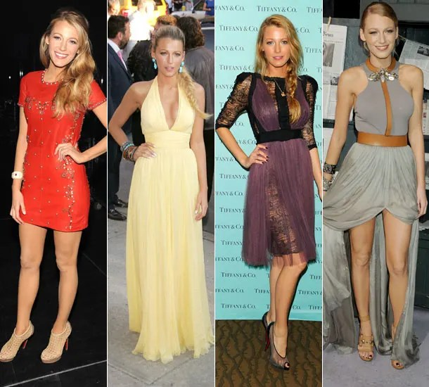 Blake Lively the perfect wedding guest HELLO!