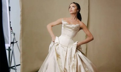 Victoria Beckham puts on her wedding dress again for ...