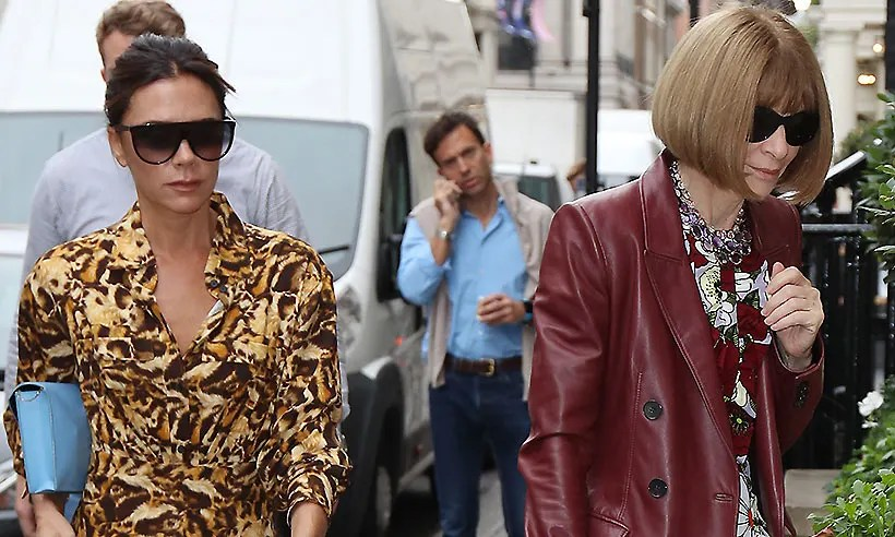 Victoria Beckham Just Wore Full On Leopard Print For A