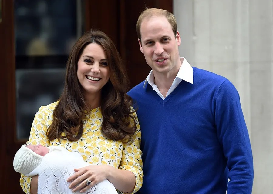 Prince William And Kate Middleton Welcome Baby Girl