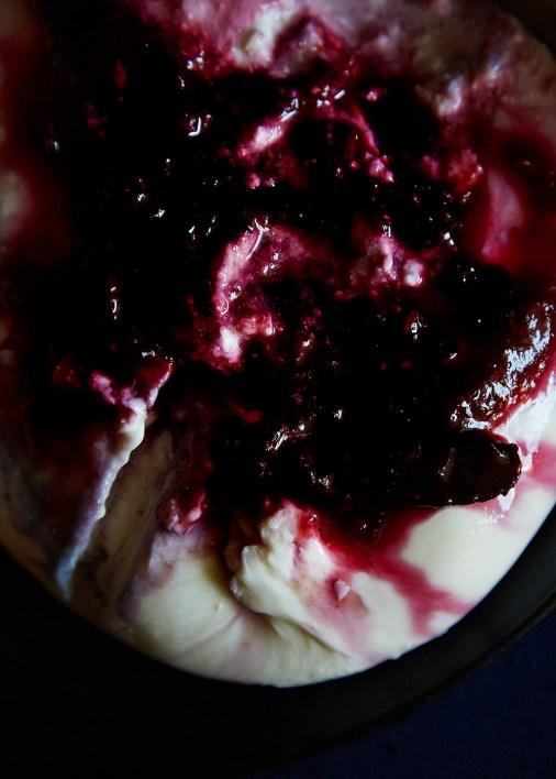 Burrata with Mezcal Damson Plum Jam | Hello My Dumpling