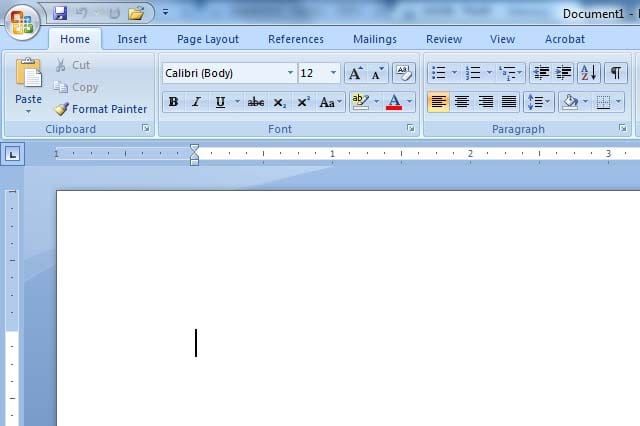 How to Change the Way You View Your Document in Microsoft Word - mickrosoft word