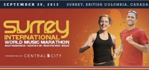 2nd Annual Surrey Marathon This Sunday, September 29, 2013