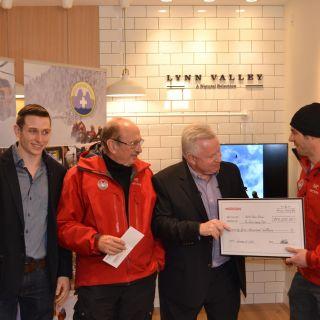 Real Estate Developer, Marcon, Donates $75,00 to North Shore Rescue