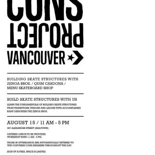 Converse Cons Project Vancouver