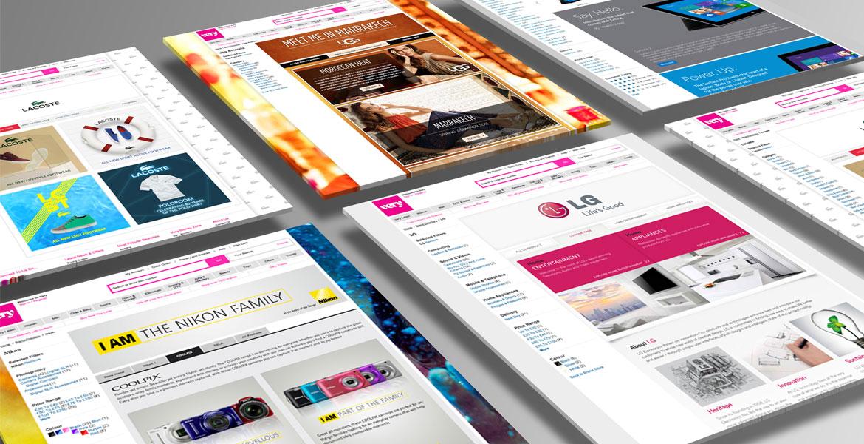 Shop Direct Brandstores Branded website