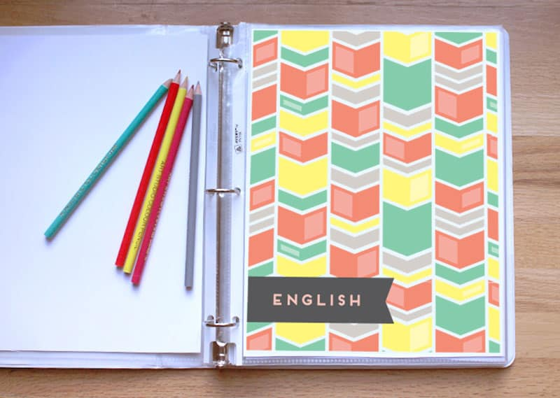 7 DIY NOTEBOOKS AND BINDER TO MAKE ORGANIZING FUN - notebook binder