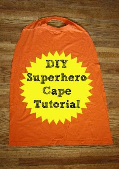 superhero shirt with cape