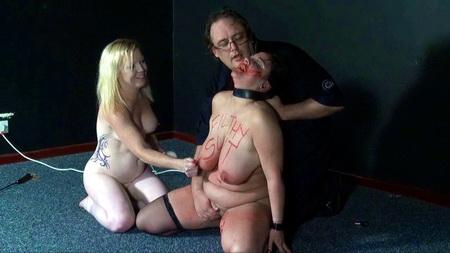 lesbian public disgrace humiliation
