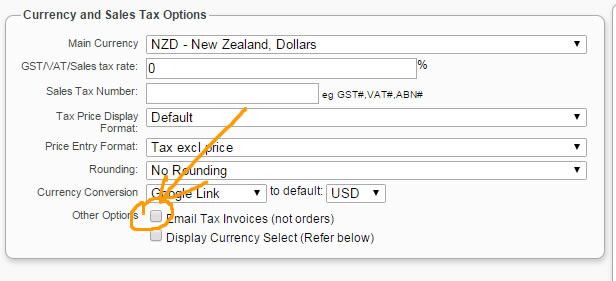 Send a TAX INVOICE instead of an invoice - Layout  Formatting - Tax Invoice Layout