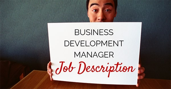 Business Development Manager Job Description -