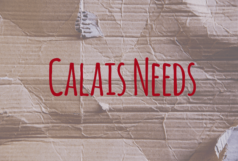 Calais Needs - updated
