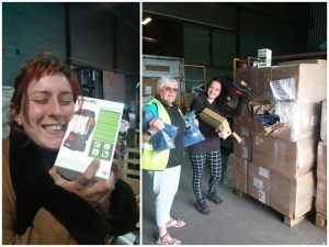 Thank you – huge delivery arrives for Calais Mobile Distribution team!
