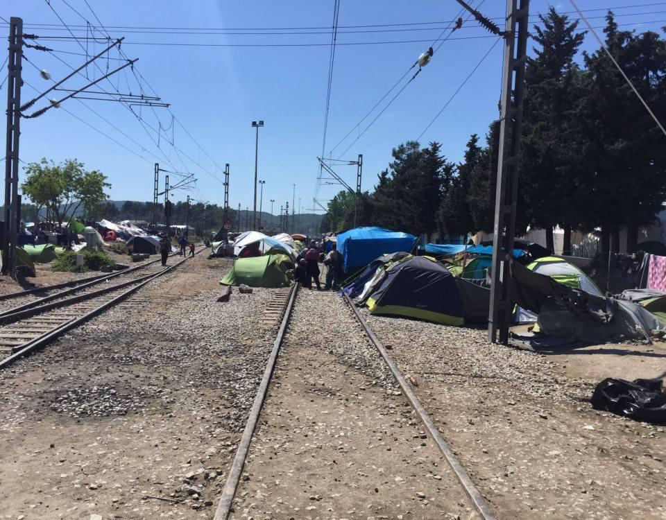 Idomeni camp clearance