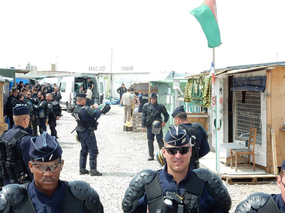 Calais camp raids