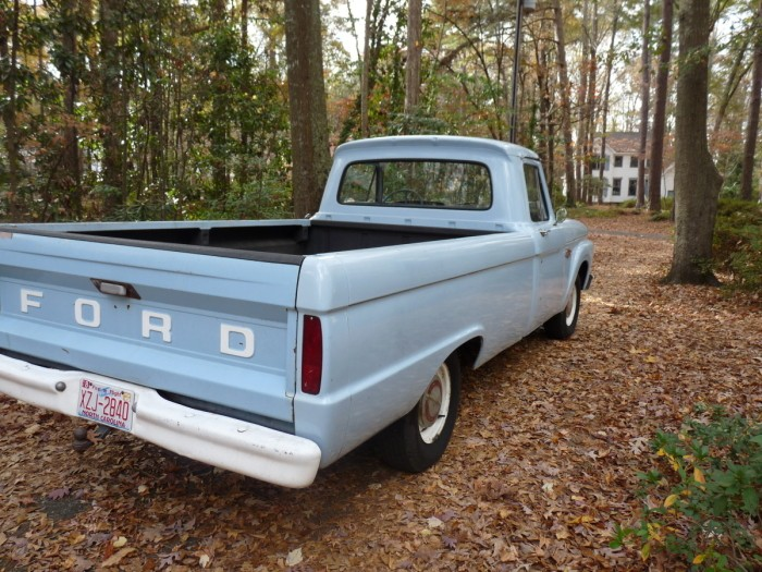 Hemmings Find of the Day \u2013 1966 Ford F100 Hemmings Daily