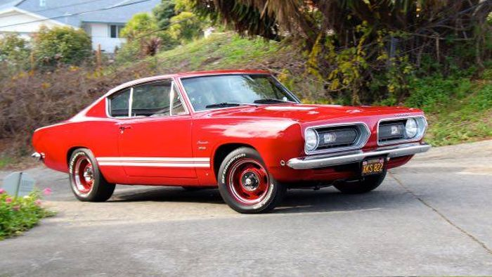 Hemmings Find of the Day \u2013 1968 Plymouth Barracuda Hemmings Daily