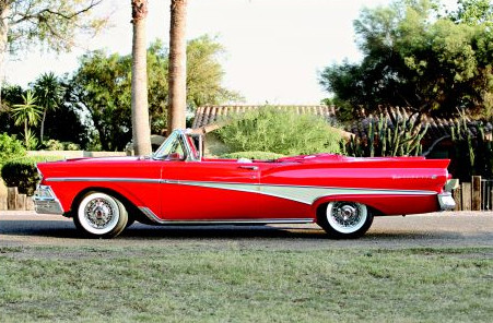 1958 Ford Fairlane Convertible Hemmings Daily
