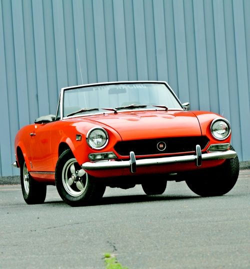 Fiat 124 Spider Hemmings Daily