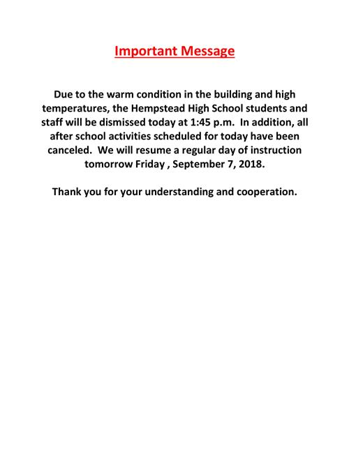 Hempstead High School / Homepage - powerschool administrator sample resume