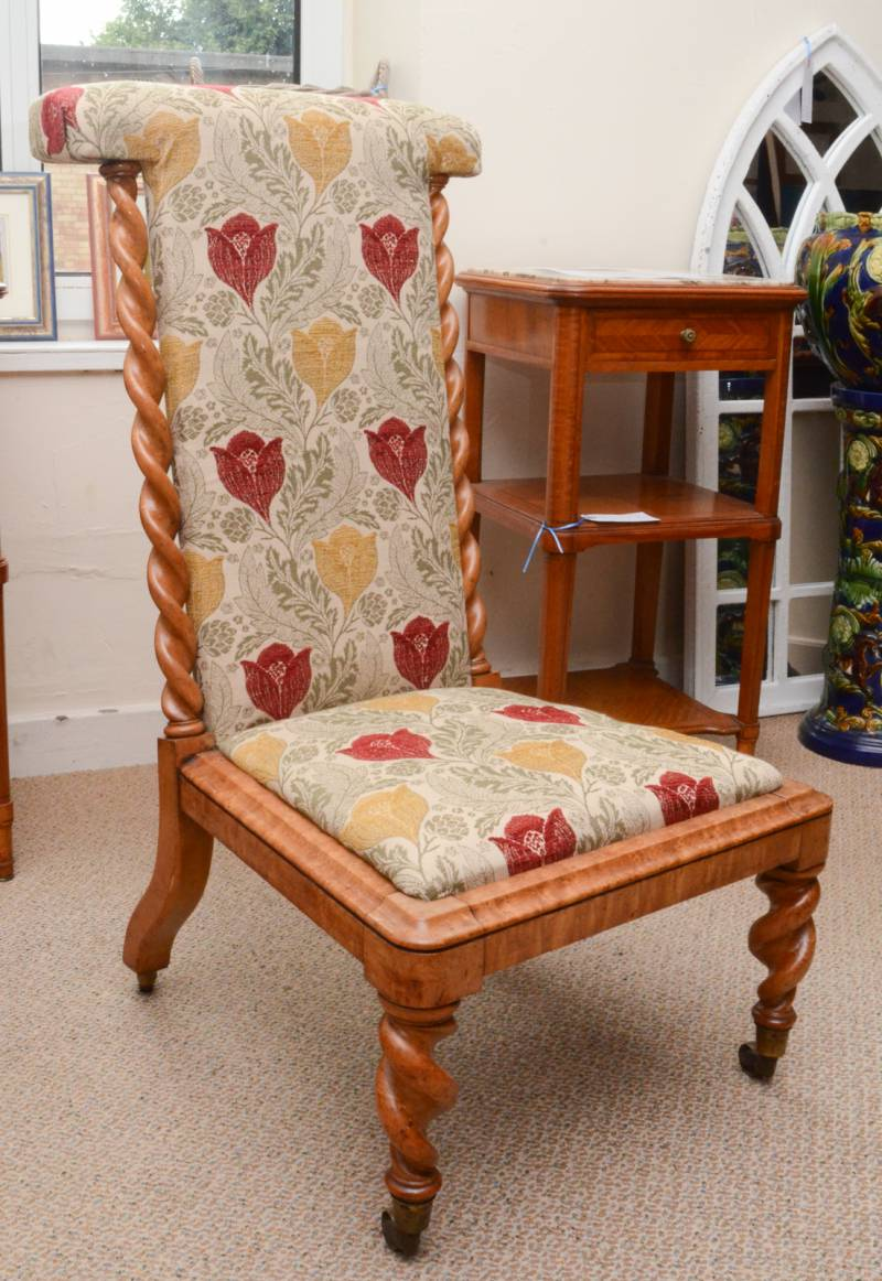 Birds Eye Maple Chair Antique Chairs Hemswell Antique