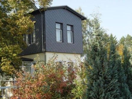 Henke Dachdecker - Fassadenverkleidung mit Naturschieferplatten in Stadthagen (Landkreis Schaumburg-Lippe)