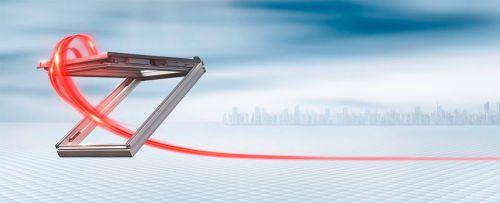 Henke Dachdecker und Zimmerei für Hameln - Baulinks: i8 - Rotos neues automatisches Dachflächenfenster ohne sichtbare Antriebselemente