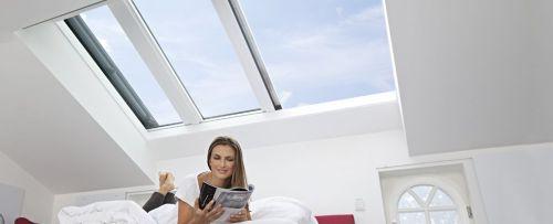 Henke Dachdecker für Rinteln - Energie-Fachberater: Auch beim Dachfenster auf Wohngesundheit achten - Emissionsarme Wohndachfenster lassen Schadstoffen keinen Raum