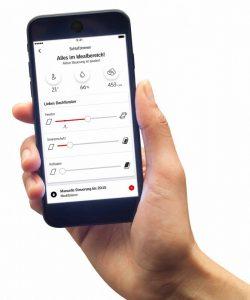 Henke Dachfenster für Stadthagen - Smart-Home-System Velux Active App