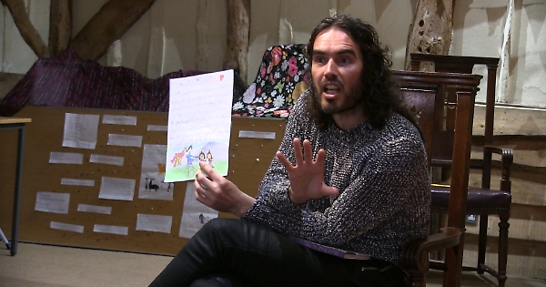 Russell Brand Tells Stories To Henley Children Henley