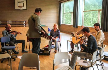 My slow jam class in Risor workshop, Norway 2013