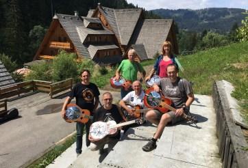 Dobro Class at Bluegrass and Wellness Workshop, Oščadnica, Slovakia 2016