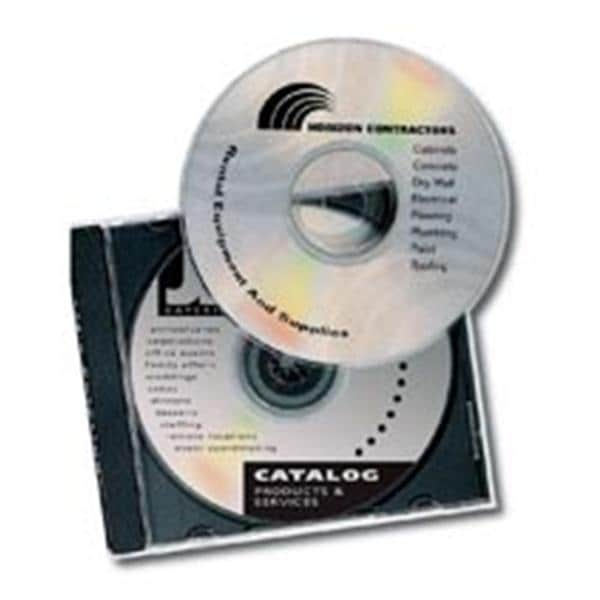 Avery Clear Glossy Laser CD/DVD Labels 40/Pack 40/Pk