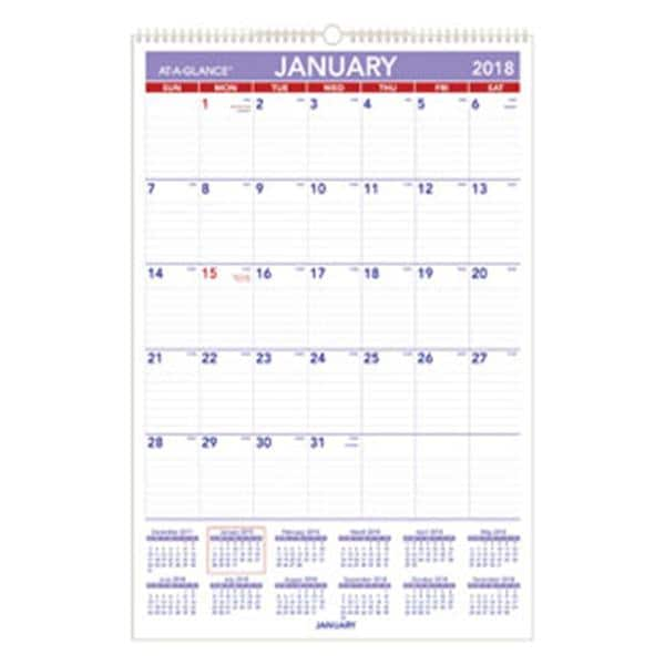 Vertical Calendar Ea