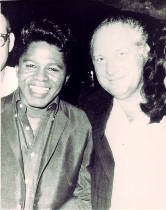 Early photo of James Brown and Henry Stone c. 1968